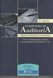 Compendio De Auditoría Rt 37 4º Ed. - Colcerasa - Edicon