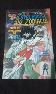 Revista Risca Cor Os Cavaleiros Do Zodiaco 4 Argueti Rara
