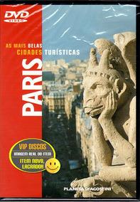 Dvd Paris As Mais Belas Cidades Turísticas Novo Lacrado