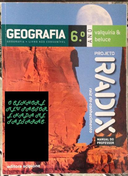 Geografia 6º Ano - E Física 1, 2 E 3 Manual Professor.