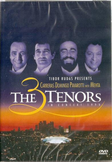 Dvd The 3 Tenors - In Concert 1994 - Novo***
