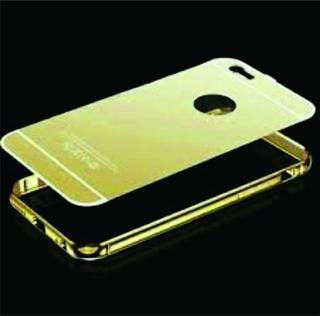 Lujosa Funda Espejo Bumper Aluminio iPhone 6 Plus