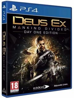 Deus Ex Mankind Divided Ps4 Nuevo Envio Gratis 6 Cuotas S/in