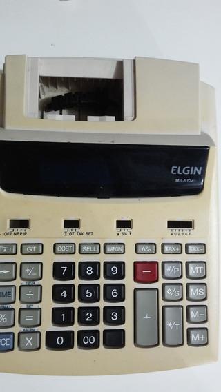 Carcaça Calculadora Elgin Mr6124 S Fonte, C Teclas,viso#1637