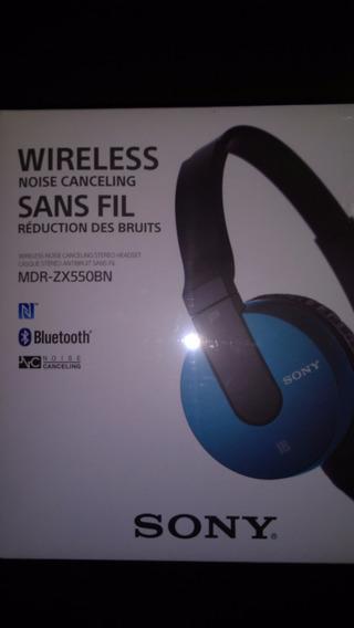 Fone Bluetooth Sony Mdr-zx550bn