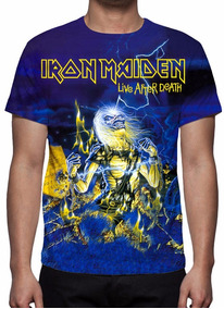 Camisa, Camiseta Iron Maiden - Live After Death