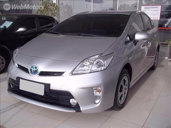 Toyota Prius 1.8 Hybrid Prata 2013/13 Unico Dono. Perfeito