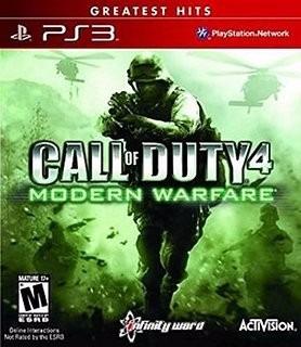 Jogo Call Of Duty 4 Modern Warfare Ps3 Mídia Física Cod Mw