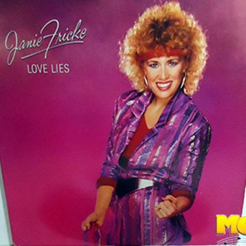 Janie Fricke 1983 Love Lies Lp Importado Country