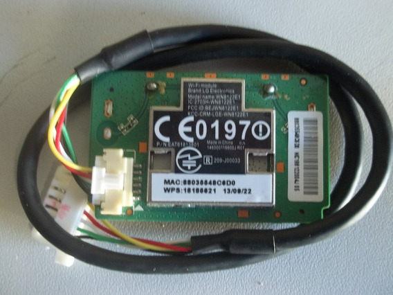 Placa Wi-fi Tv Lg 42la6200 Wn8122e1