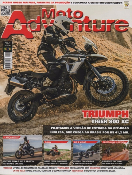 Moto Adventure N°180 Triumph Tiger 800 Xc Bmw G310r
