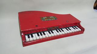 Piano De Juguete Antiguo Trade Mark Japones En Madera