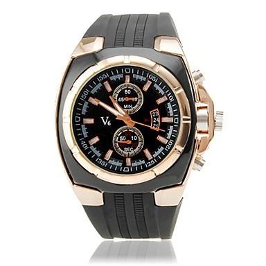 Relógio Esportivo Estilo Borracha(preto)