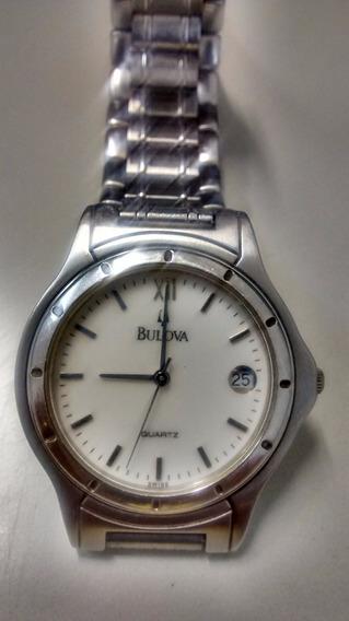 Relógio Masculino Bulova Aço Cromado