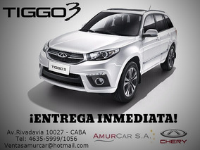 Chery Tiggo 3 New 4x2 1.6 Cvt Luxury Entrega Inmediata