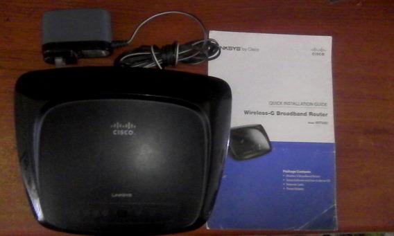 Se Vende Router Linsys Cisco Wifi Como Suich De 4 Entradas..