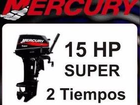 Mercury 15hp Super 0hs 2018 *** Solo X Hoy ***
