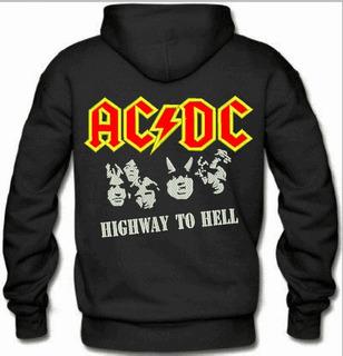 Moletom Canguru Bordado Ac/dc Bandas Heavy Metal Rock Músicas Hell