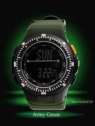 Relógio Militar Skmei 5 Atm Com Garantia - Verde