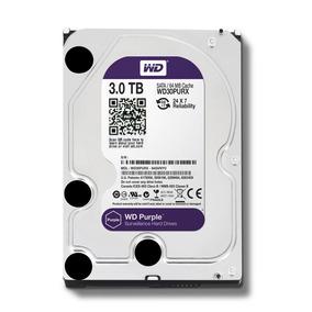 Hd Wd Western Digital Purple 3tb 64mb Sata P/ Dvr Intelbras