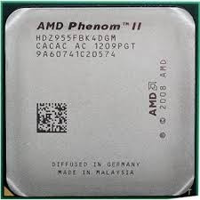 Cpu Amd Phenom Ii X4 955 Black Edition - Socket Am3 - Oem