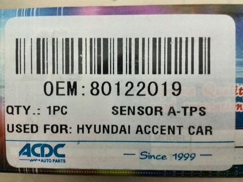 Sensor Tps Hyundai Accent Elantra 280122019
