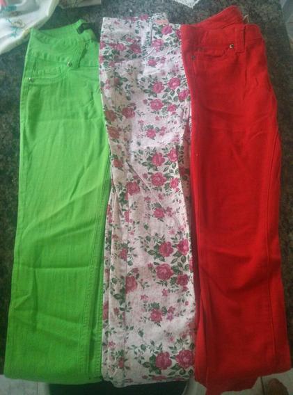 3 Calças Jeans Lindas