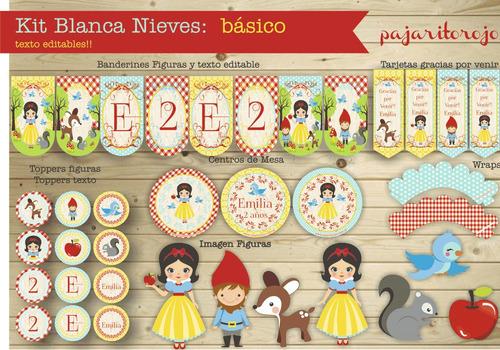 Kit Blanca Nieves