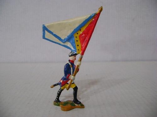 Imagen 1 de 6 de Nico Un Abanderado Marchando Soldados De Plomo (pmv 36a)