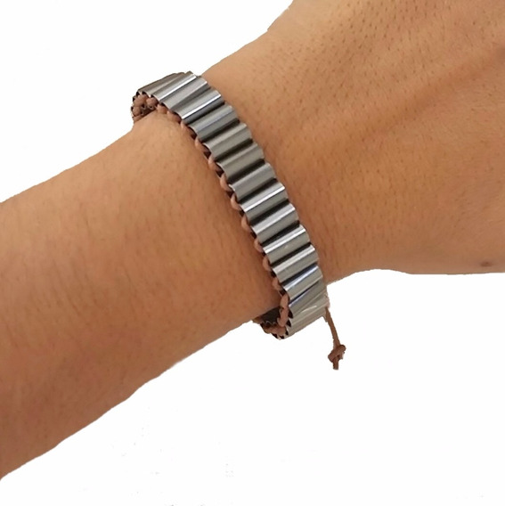 Pulseira Atacado 10 Peças Masculina Unisex Bracelete Metal