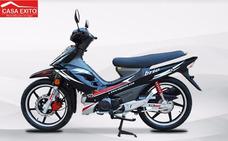 Moto Motor 1 Brio 125 Año 2018 Negro - Rojo - Azul