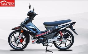 Moto Motor 1 Brio 125 Año 2016 Negro - Rojo - Azul