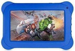 Tablet Kids Infantil Marvel Avengers 8gb Quadcore Nb240