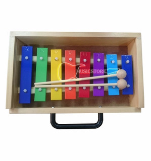 Metalofono Diatonico 8 Notas Color Musicstore