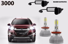 Lampadas Led Honda Wrv Wr-v 2017 2018 Kit Completo 3000