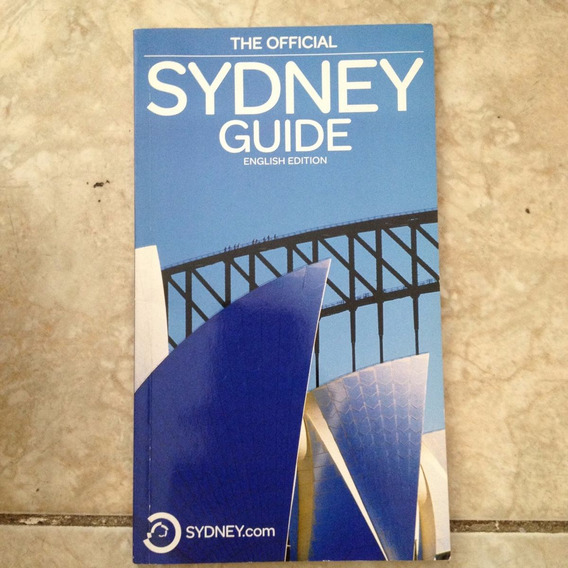 Livro The Official Sydney Guide English Edition