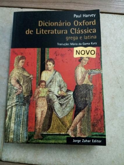 Dicionário Oxford De Literatura Clássica Grega E Latina