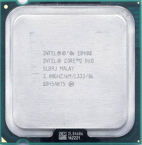 Processador 775 Core 2 Duo E8400 3.0ghz 6mb Cache