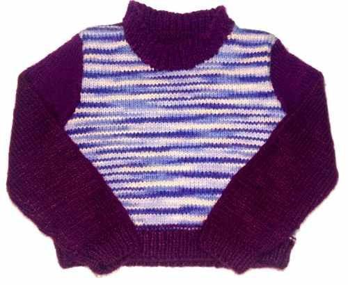 Sueter Blusa Feminina Infantil Tricot - Frete Grátis