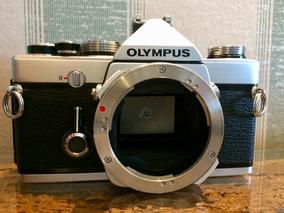 Câmera Olympus Om-1n Md Corpo 35mm Revisada