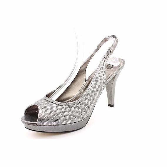 Zapatillas Jessica Simpson Plateadas Num 6.5 Originales