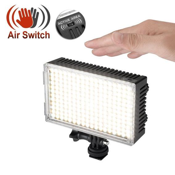 Lampara Video Pergear A216c Air Switch Sensor Led Con Bateri