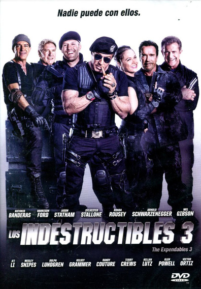 Dvd Indestructibles 3 ( The Expendables 3 ) 2014 - Patrick H