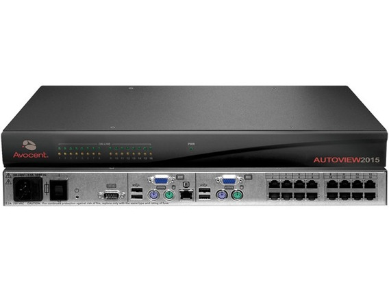 Autoview 2015 Avocent Corp 16port Kvm Server Control