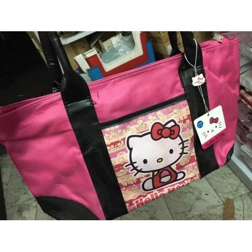 Hermosa Cartera Bolso De Hello Kitty
