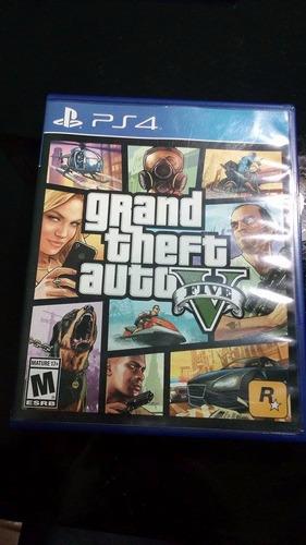 Grand Theft Auto 5 Ps4 (como Nuevo) /con Mapa