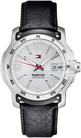 Relógio Luxo Tommy Hilfiger Th1790899 Orig Chron Anal Couro!