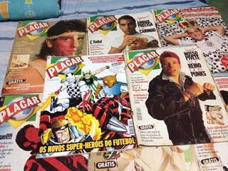 Revistas Placar,de 1995,em Bom Estado,para Colecionador