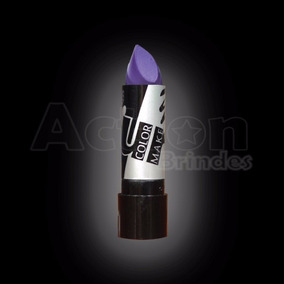 Batom Roxo Color Make - Kit 11 Unidades