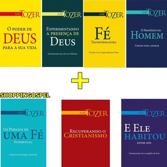 Coleção A. W. Tozer 07 Livros